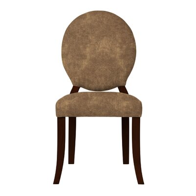 Lashley Solid Upholstered Side Chair Upholstery: Brown