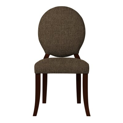 Lashley Solid Side Chair (Set of 2) Upholstery: Brown