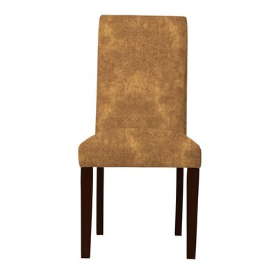 Beachwood Straight Leg Parsons Chair Upholstery: Beige
