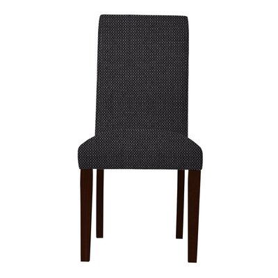 Beachwood Wood Legs Parsons Chair (Set of 2) (Set of 2) Upholstery: Dark Gray