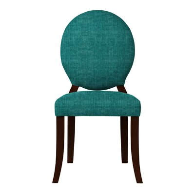 Lashley Upholstered Side Chair Upholstery: Teal