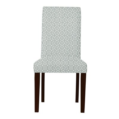 Beachwood Square Intertwined Parsons Chair Upholstery: Green