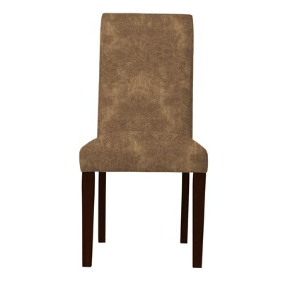 Beachwood Straight Leg Parsons Chair (Set of 2) Upholstery: Brown