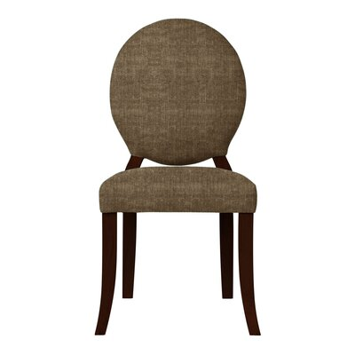 Lashley Upholstered Side Chair (Set of 2) Upholstery: Brown
