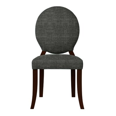Lashley Upholstered Side Chair (Set of 2) Upholstery: Dark Gray