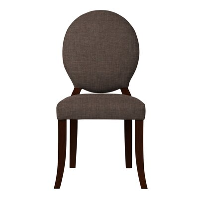 Lashley Solid Side Chair Upholstery: Brown