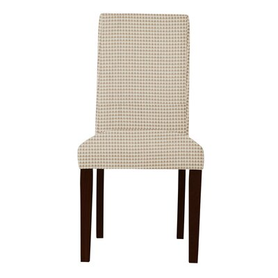 Beachwood Cotton Parsons Chair Upholstery: Orange