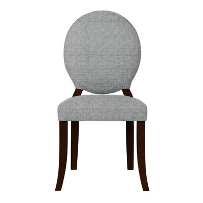 Lashley Solid Side Chair Upholstery: Light Gray