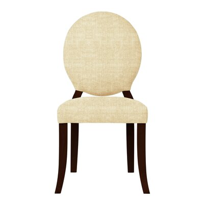 Lashley Upholstered Side Chair Upholstery: Cream