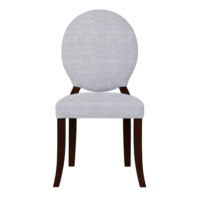 Lashley Upholstered Side Chair (Set of 2) Upholstery: Light Gray