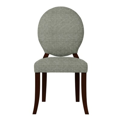 Lashley Solid Side Chair (Set of 2) Upholstery: Gray