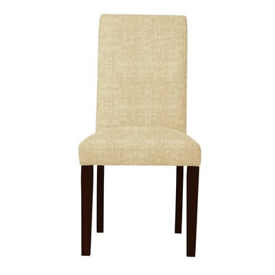 Beachwood Solid Back Side Chair Upholstery: Beige