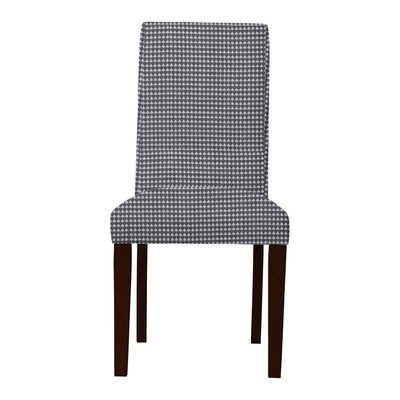 Beachwood Cotton Parsons Chair (Set of 2) Upholstery: Dark Gray
