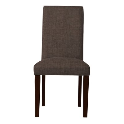 Beachwood Parsons Chair ( Set of 2) Upholstery: Brown