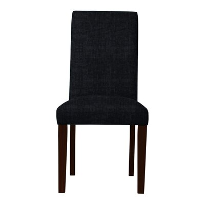 Beachwood Sonoma Fabric Parsons Chair Upholstery: Black