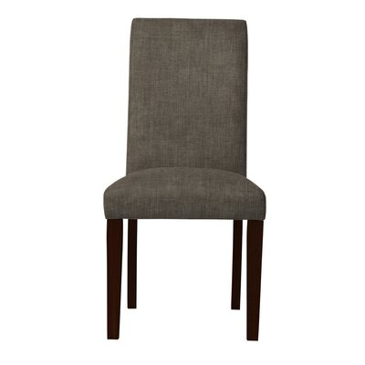 Beachwood Straight Leg Parsons Chair Upholstery: Gray