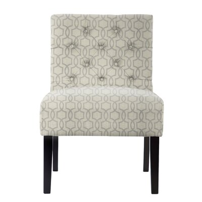 Lashbrook Honeycomb Slipper Chair