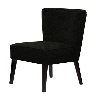 Lasalle Slipper Chair Upholstery: Black