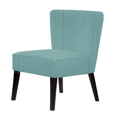 Lasalle Upholstery Hardwood Frame Slipper Chair Upholstery: Green