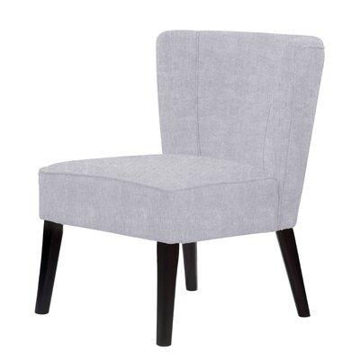 Lasalle Hardwood Frame Slipper Chair Upholstery: Light Purple