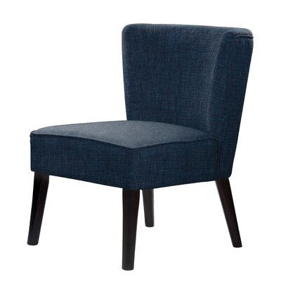 Lasalle Slipper Chair Upholstery: Blue