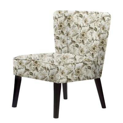 Lasalle Flower Gray Slipper Chair