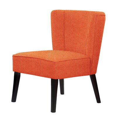 Lasalle Slipper Chair Upholstery: Orange Red