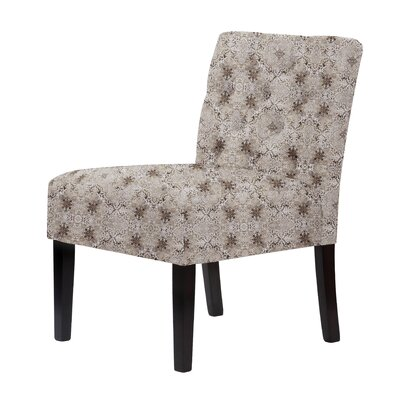Lashbrook Button-Tufted Upholstery Designs Slipper Chair Upholstery: Gray