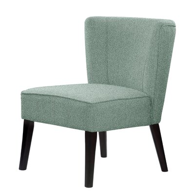Lasalle Slipper Chair Upholstery: Mint
