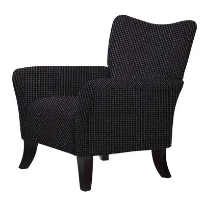Laseter Upholstery Arm Chair Upholstery: Black