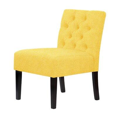 Lashbrook Slipper Chair Upholstery: Yellow