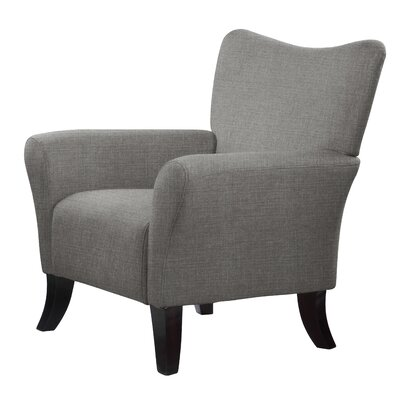 Laseter Armchair Upholstery: Charcoal