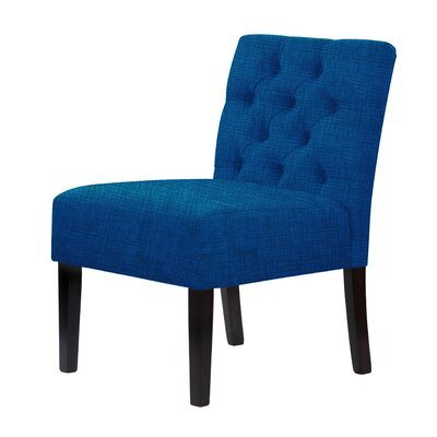 Lashbrook Slipper Chair Upholstery: Blue