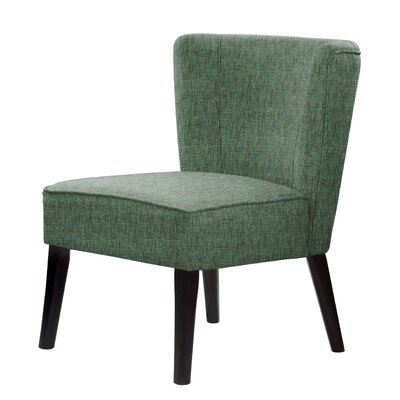Lasalle Slipper Chair Upholstery: Green