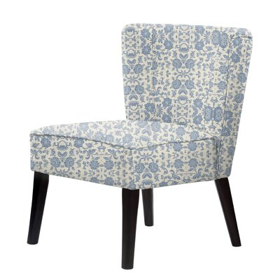 Gale Slipper Chair Upholstery: Blue