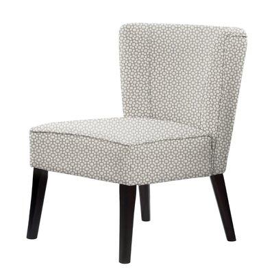 Lasalle Slipper Chair Upholstery: Brown