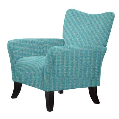 Laseter Upholstery Arm Chair Upholstery: Sea Green
