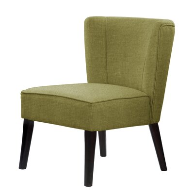 Lasalle Slipper Chair Upholstery: Olive