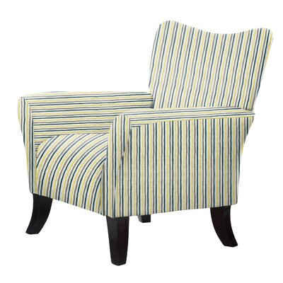 Laseter Striped Arm Chair