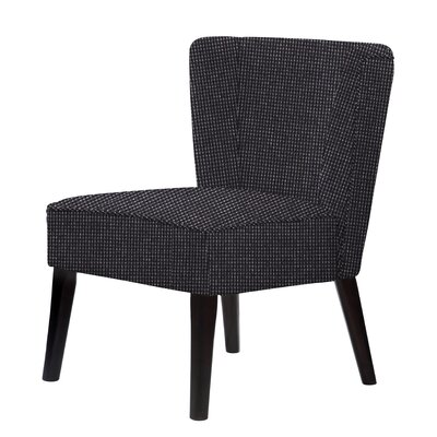 Lasalle Slipper Chair Upholstery: Black Gray