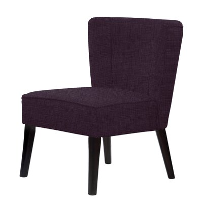 Lasalle Slipper Chair Upholstery: Dark Purple