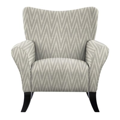 Laseter Chevron Arm Chair