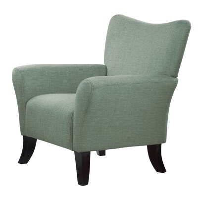 Laseter Armchair Upholstery: Green