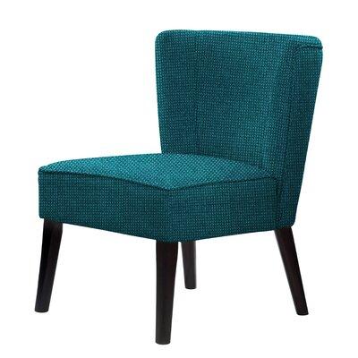 Lasalle Slipper Chair Upholstery: Green