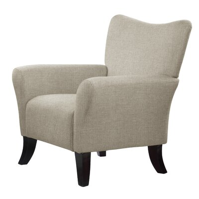 Laseter Armchair Upholstery: Light Gray