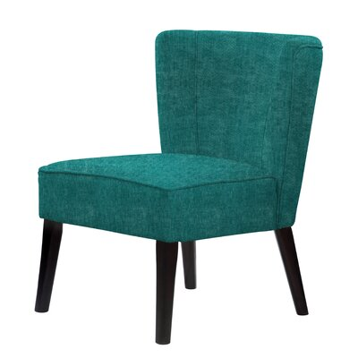 Lasalle Slipper Chair Upholstery: Dark Cyan