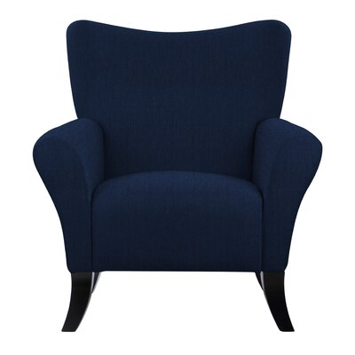 Laseter Blue Arm Chair