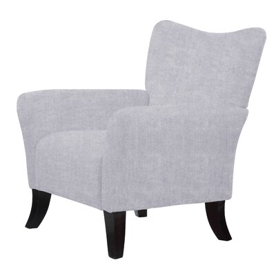 Laseter Armchair Upholstery: Stone Gray