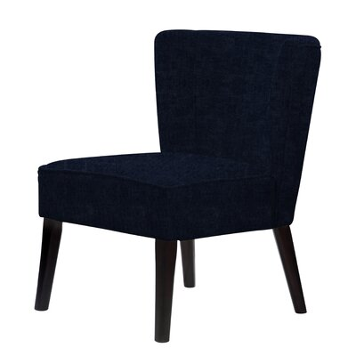 Lasalle Slipper Chair Upholstery: Dark Blue