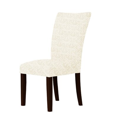 Wallington Parsons Chair Upholstery: Cream